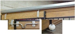 horse stall door sliding kit