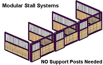 How To Build Prefabricated Free Standing Modular Horse Stalls By