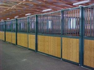 Prefabricated Horse Stalls Modular Free Standing Horse