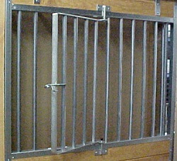 galvanized horse stall grill with swingout & Galvanized Horse Stall Kits | On Sale | Horse Equipment by Country MFG.