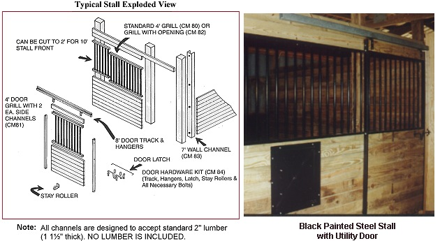 How To Build Support Post Kit Style Horse Stalls By Country Mfg